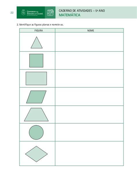 figuras geometricas quarto ano paic livro do aluno matem 193 tica 5 186 ano 3 186 e 4 186 bimestre