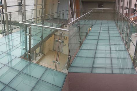 glass floor paragon glass flooring staircase systems