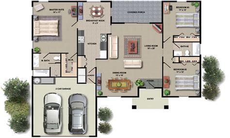 open floor plan homes with pictures house floor plan design small house plans with open floor