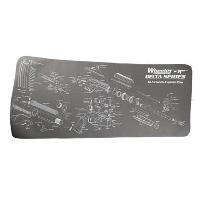 gunsmith bench mat wheeler engineering ar maintenance mat brownells