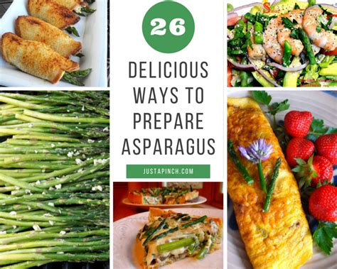 7 Ways To Its Just A Fling by 26 Delicious Ways To Prepare Asparagus Just A Pinch