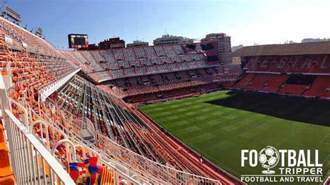 Ground Plan by Estadio De Mestalla Valencia Cf Guide Football Tripper