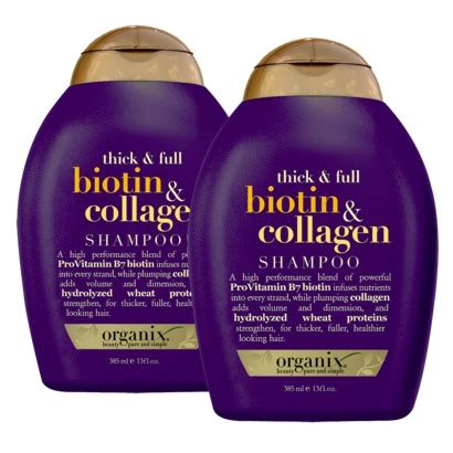 All In Conditioner Collagen Review Organix Biotin And Collagen Shoo And