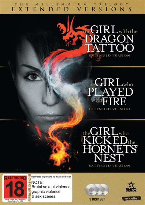 dragon tattoo trilogy extended edition millenium trilogy extended commggett