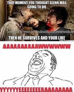 Walking Dead Glenn Meme - walking dead memes glenn image memes at relatably com