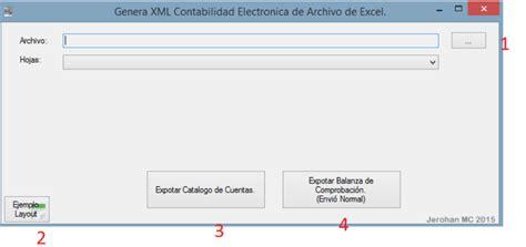 layout xml sat generar xml cuentas balanza sat de layout excel jer 174