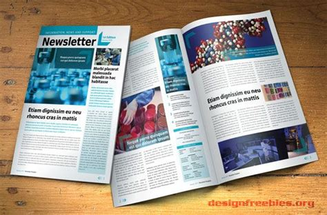 indesign newsletter templates free newsletter templates and templates on