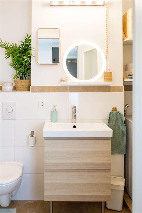Ikea Badezimmer Klein stauraum f 252 r ein kleines badezimmer wir zeigen euch