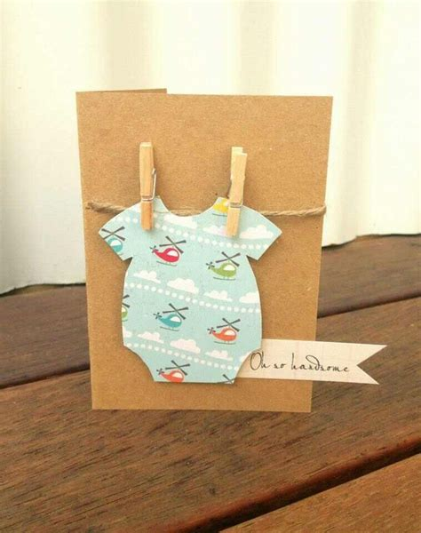 Handmade Gifts For Baby Boy - 25 best ideas about new baby cards on