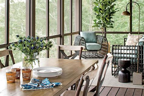 lake house decorating ideas southern living the porch serene lakefront hideaway southern living