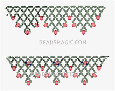 how to do beading схемы on seed bead tutorials beading patterns