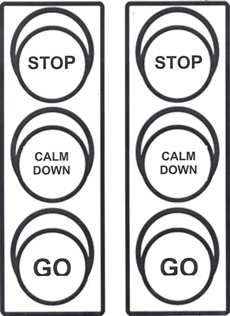 behavior stop light coloring page i created for my kiddos when you are angry use your stop therapeutic interventions for children stop calm down go