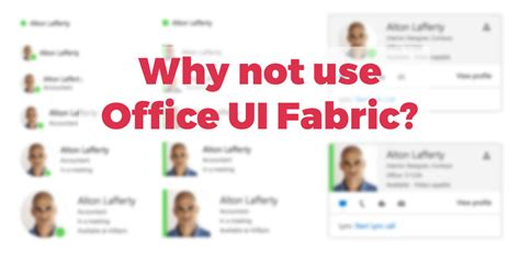 Office Ui Fabric React Why Not Use Office Ui Fabric Stefan Bauer N8d