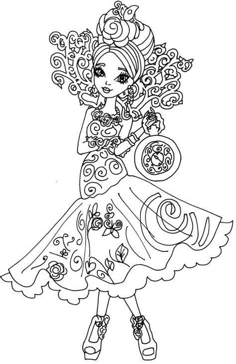 bunny blanc coloring pages ever after high coloring pages bunny blanc best of copy