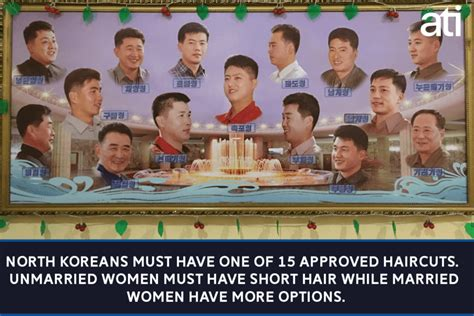 10 haircuts allowed in north korea 46 north korea facts that are almost too unbelievable to