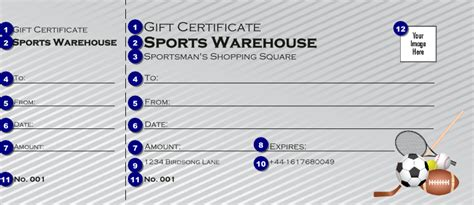 printable sports gift certificates sports gift certificate 002 ticket printing
