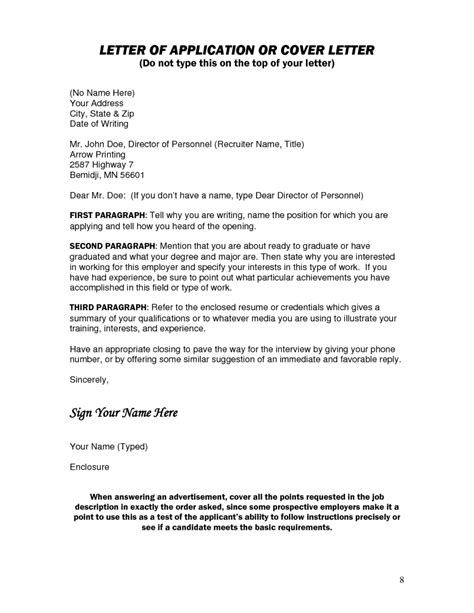 Email Cover Letter No Name Cover Letter Without Contact Name The Letter Sle