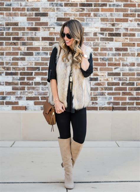 Tunic Fashion 11 my favorite tunic faux fur vest with honey we re home