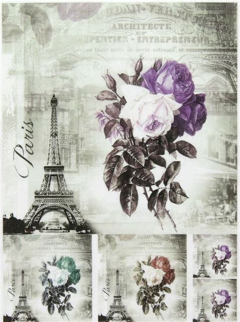 Decoupage Photo Transfer - 17 best images about carte decoupage e transfer on