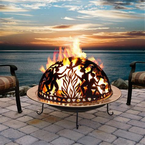 cool backyard fire pits 11 cool and beautiful outdoor fire pit designs design swan