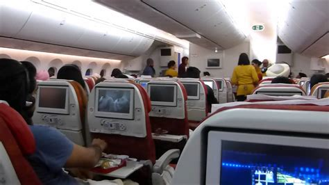 whole flight air india boeing 787 8 dreamliner