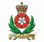 Intelligence Corps Logo / Crest Sticker