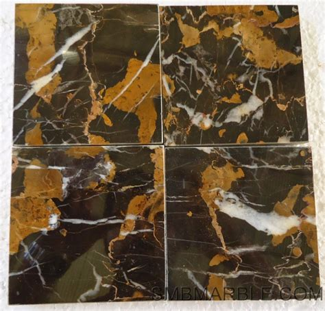 Black and Gold Marble   SMB Marble