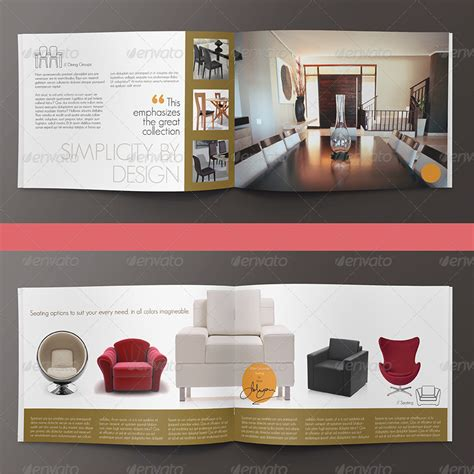 Home Interior Decoration Catalog Modern Home Interior Design Brochure Catalog By Mailchelle Graphicriver