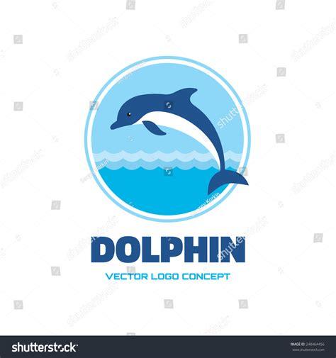 Vector Illustrations Design Concept Template dolphin vector logo template concept illustration stock