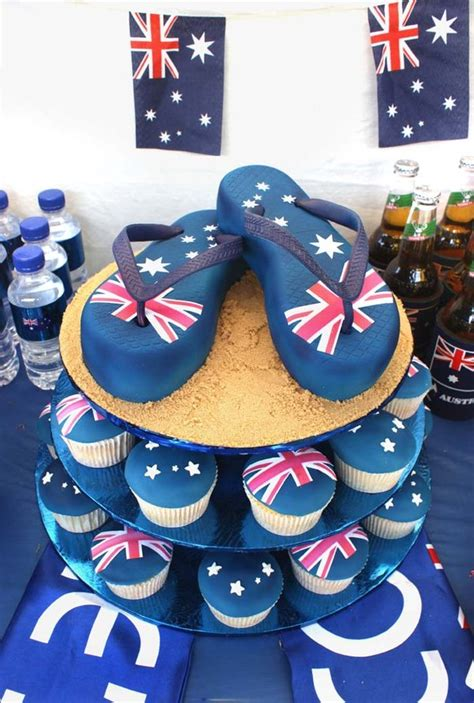 australia day cake by verusca on deviantart