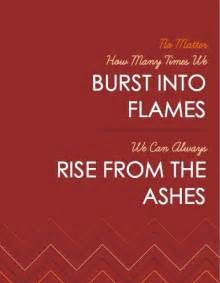 rise above tattoo quotes from the ashes quotesgram