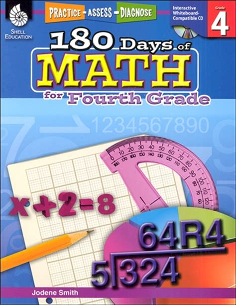 180 days of reading for third grade 180 days of practice 180 days of math for fourth grade