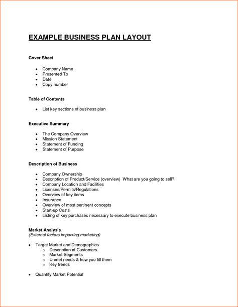 small business plan template free bargainator com