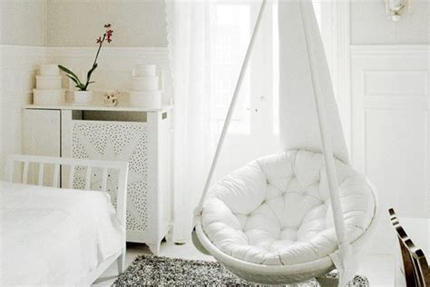 hanging chairs for bedrooms free up your floor space using hanging chairs terrys