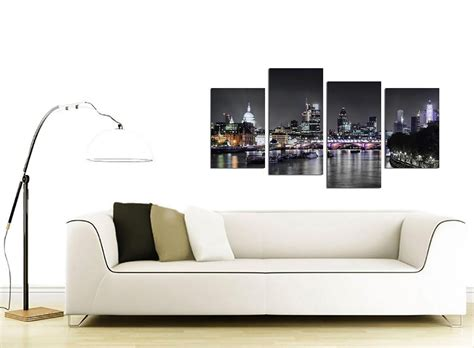 living room canvas art canvas wall art of london skyline for your living room 4