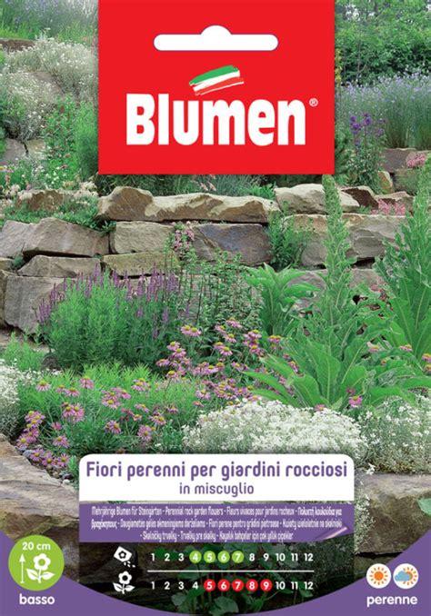 sementi fiori perenni fiori perenni per giardini rocciosi blumen