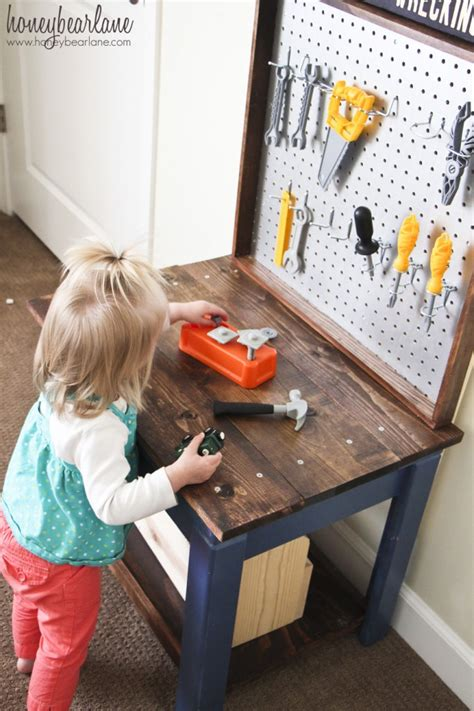 diy kids tool bench christmas holiday diy part 2 the big gifts