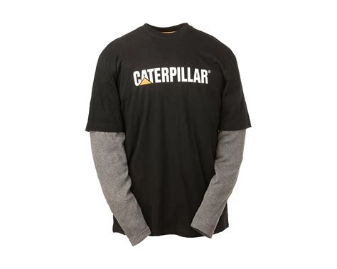cat thermal layered sleeved t shirt 1510036