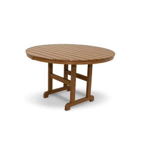 Trex Outdoor Furniture Monterey Bay 48 In Tree House Outdoor Patio Dining Table
