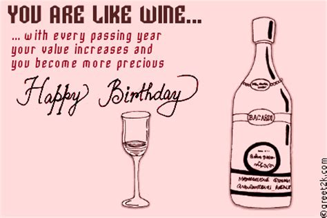 wine birthday wishes happy birthday funny wine quotes quotesgram