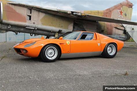 Classic Lamborghini For Sale Used 1969 Lamborghini Miura For Sale In Chester Pistonheads