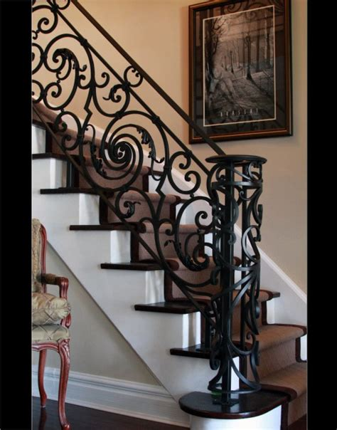 Wrought Iron Banister Spindles 18 Century French Staircase Traditional Staircase
