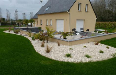 Amenagement De Jardin Et Terrasse by Am 233 Nagement Terrasse Maison Photo De Plud Un Paysage