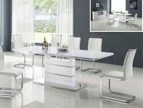 modern white dining room sets white modern dining room sets gen4congress com