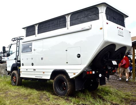 mitsubishi fuso 4x4 expedition vehicle all terrain warriors mitsubishi fuso fg based expedition
