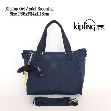 Tas Kipling Amiel Grade Ori tas wanita kipling original amiel essential navy olshop