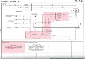mazda 6 headlight wiring diagram 6 mazda free wiring diagrams