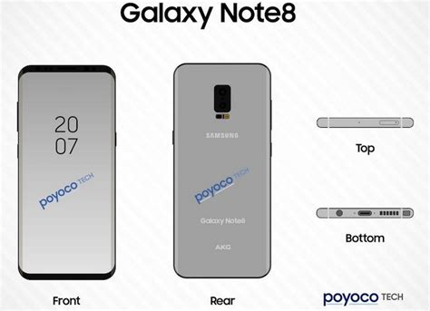 samsung note 8 tutorial video latest render of the samsung galaxy note 8 reveals