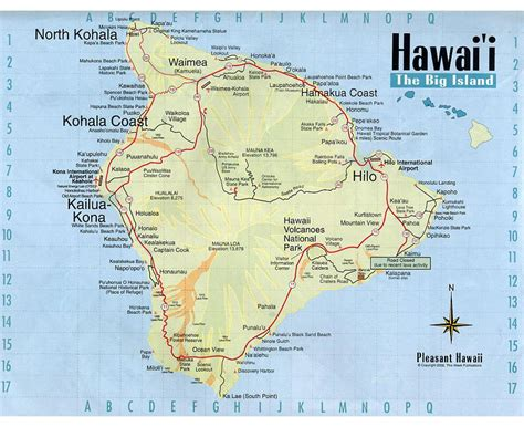 usa map island maps of big island detailed map of big island in
