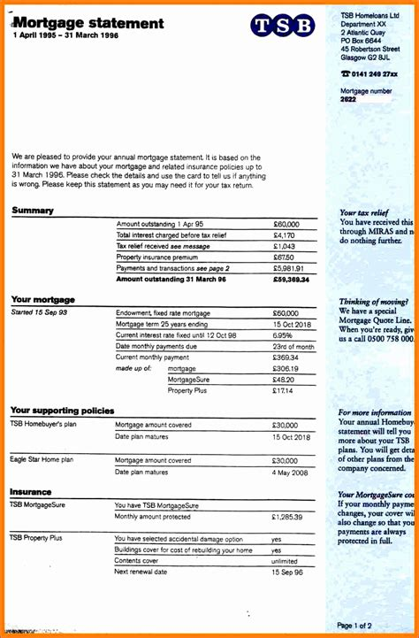 8 Personal Finance Template Excel Exceltemplates Exceltemplates Free Mortgage Statement Template